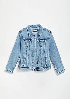 LOFT Plus Modern Denim Jacket