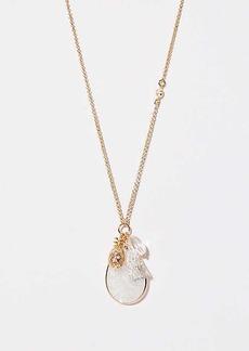 LOFT Pineapple Pendant Necklace