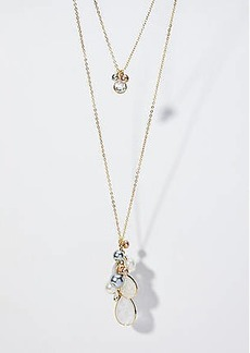 LOFT Cluster Pendant Necklace Set