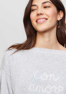 LOFT Con Amor Sweater