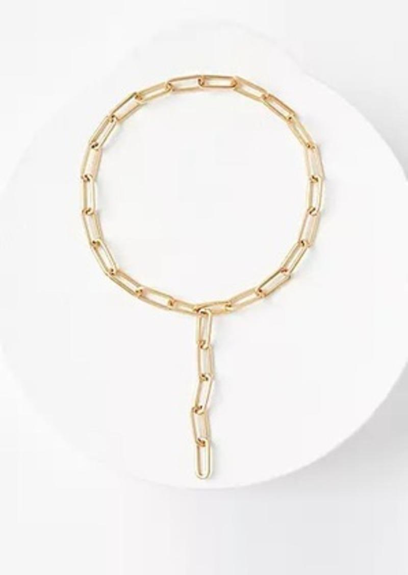 LOFT Convertible Chain Link Necklace