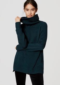 LOFT Cowl Sweater Tunic