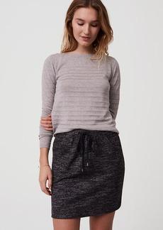 Cozy Drawstring Skirt