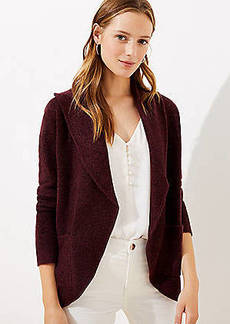 LOFT Cozy Open Cardigan