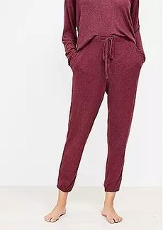LOFT Cozy Pajama Joggers