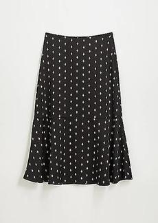 LOFT Crane Fluted Midi Skirt