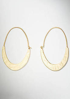 LOFT Crescent Moon Oval Earrings
