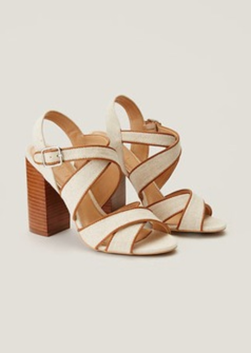 LOFT Criss Cross Block Heels