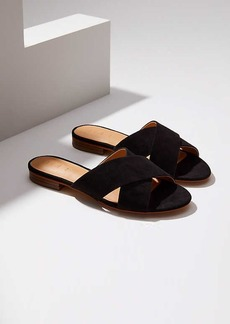 LOFT Criss Cross Slide Sandals