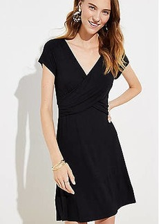 LOFT Criss Cross Wrap Dress