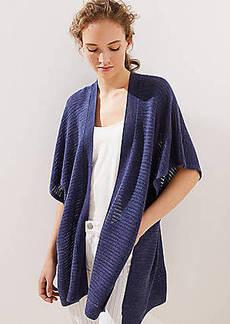 LOFT Crochet Kimono