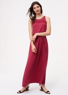 Crochet Sleeveless Maxi Dress