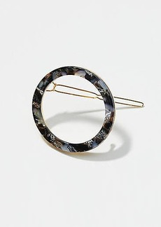 LOFT Crushed Stone Ring Hair Clip