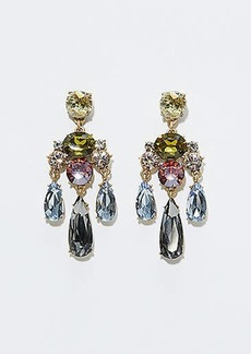 LOFT Crystal Chandelier Drop Earrings