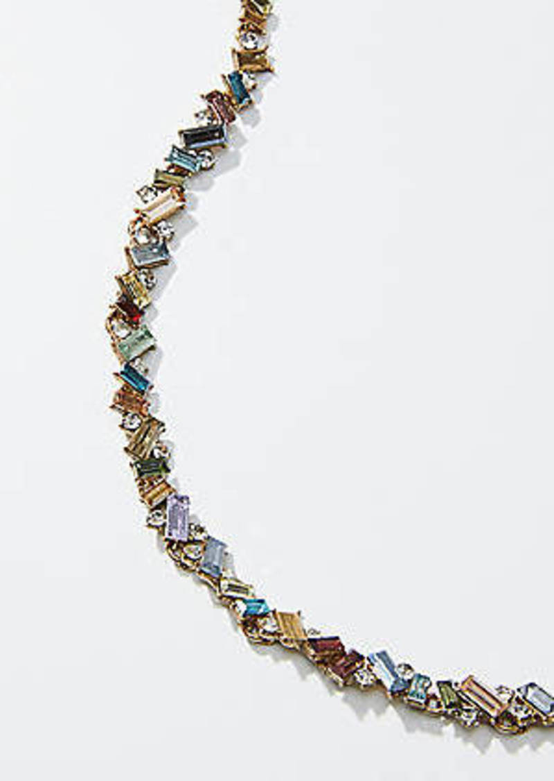LOFT Crystal Cluster Necklace