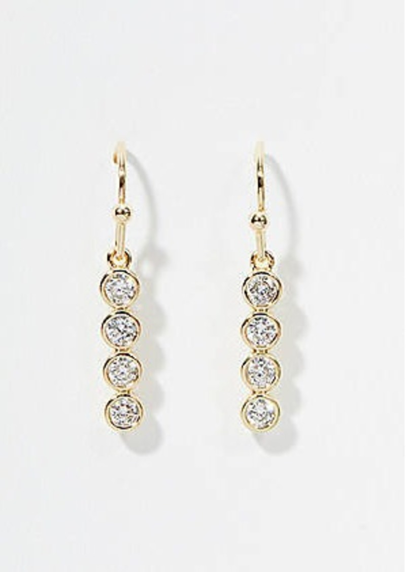 LOFT Crystal Drop Earrings