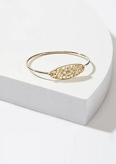 LOFT Crystal Filigree Bangle