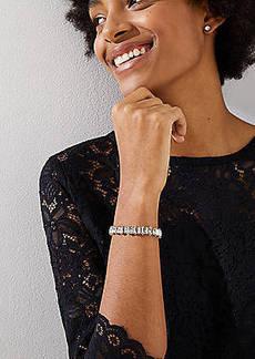 LOFT Crystal Slider Bracelet