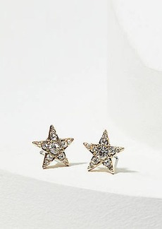 LOFT Crystal Star Stud Earrings