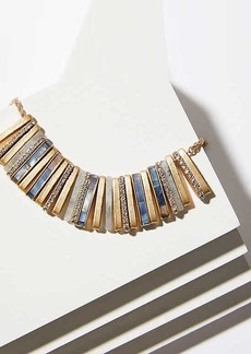 LOFT Crystal Stone Bar Necklace