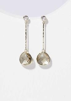 LOFT Crystal Stone Drop Earrings