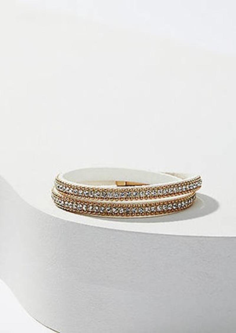 LOFT Crystal Wrap Bracelet