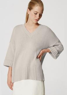LOFT Cuffed Ribtrim Sweater