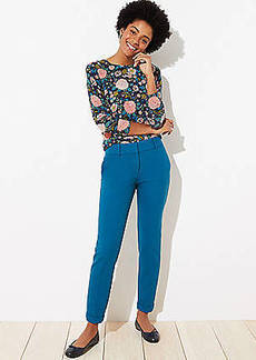 LOFT Cuffed Slim Pencil Pants in Curvy Fit