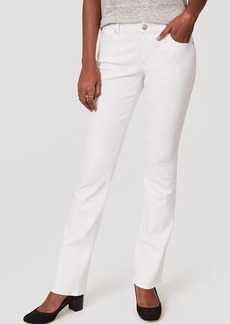 Curvy Boot Cut Jeans in White