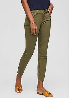 LOFT Curvy Fresh Cut Skinny Crop Jeans