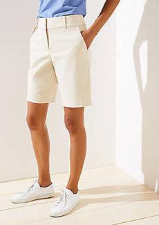 LOFT Curvy Riviera Shorts with 10 Inch Inseam