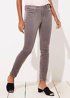 LOFT Curvy Skinny Corduroy Pants