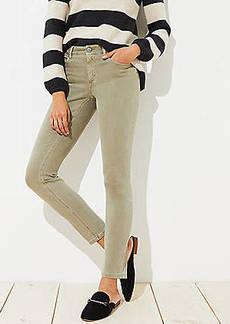 LOFT Curvy Skinny Jeans in Sagebrush