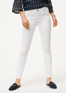 Curvy Skinny Jeans in White