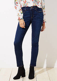 LOFT Curvy Soft Skinny Jeans in Luxe Dark Wash