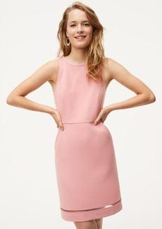 Cutout Pocket Sheath Dress