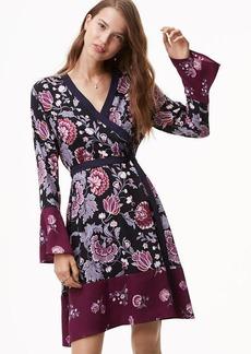 Dahlia Garden Wrap Dress