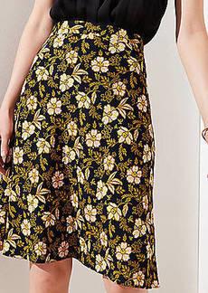 LOFT Daisy Fluid A-Line Skirt