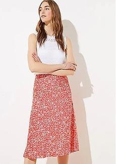 LOFT Daisy Midi Skirt