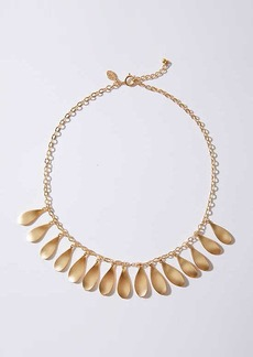 LOFT Dancing Leaf Necklace