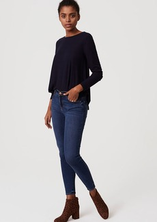 Denim Leggings in Vivid Indigo Wash