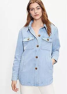 LOFT Denim Shirt Jacket