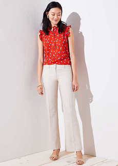 LOFT Textured Trousers in Marisa Fit