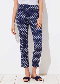LOFT Diamond Dot Riviera Pants in Julie Fit