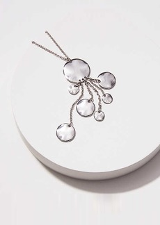 LOFT Disc Dangle Pendant Necklace