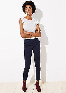 LOFT Dot Jacquard Skinny Pants in Marisa Fit