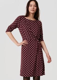 Dot Long Sleeve Dress