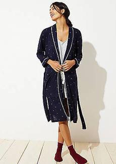 LOFT Dotted Robe