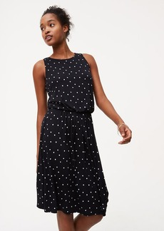 Dotted Tie Back Dress