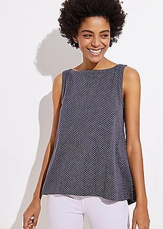 LOFT Dotted Vintage Soft Swing Tank